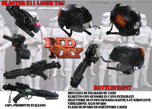 Red Ray Store - Modifica blaster E11 per il lasertag