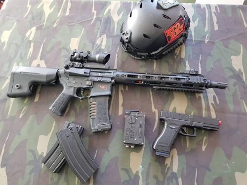 multiarma total wireless and electonic gun board