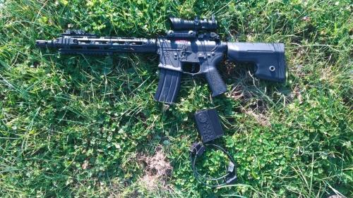 Sistema lasertag con Multiarma low cost e scheda arma