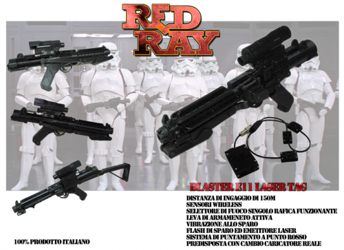Red Ray Store - Blaster E11 laser tag