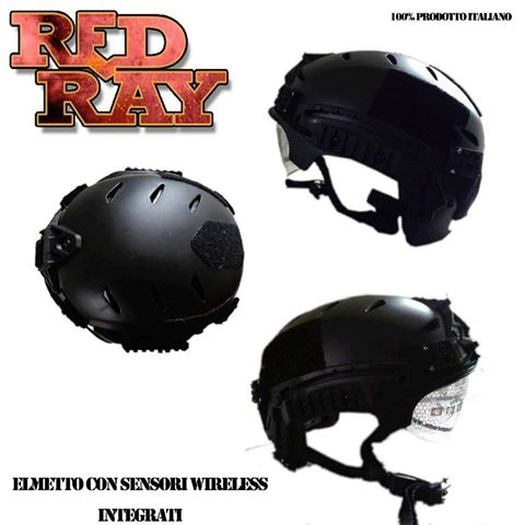 Red Ray Store - Elmetto Sensori wireless