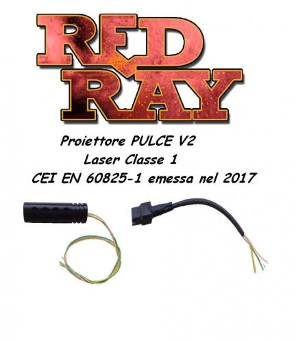 Red Ray Store - RRIRP04 - Proiettore P.U.L.C.E.V2
