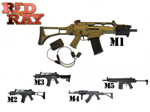 Red Ray Store - Replica laser tag ready to play wireless