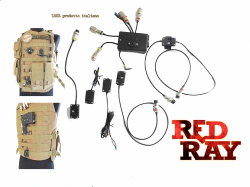 Red Ray Store - Sensori Corpo con localizzazione Wireles
