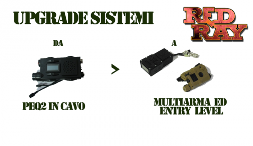 Red Ray Store - UPGRADE IN MULTIARMA ED ENTRY LEVEL 1