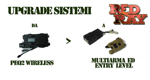 Red Ray Store - UPGRADE IN MULTIARMA ED ENTRY LEVEL 2
